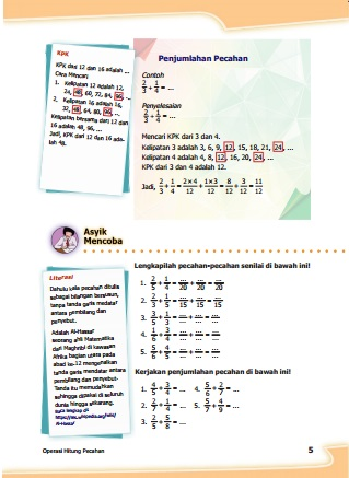 kunci jawaban matematika kelas 5 kurikulum 2013