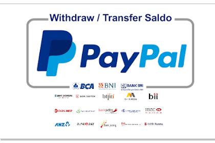 Cara Withdraw / Transfer Saldo PayPal ke Bank Lokal Terbaru 2020