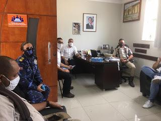 Quarto Batalhão se reúne com Prefeitura Municipal de Alagoinhas para tratar da Operação Toque de Recolher