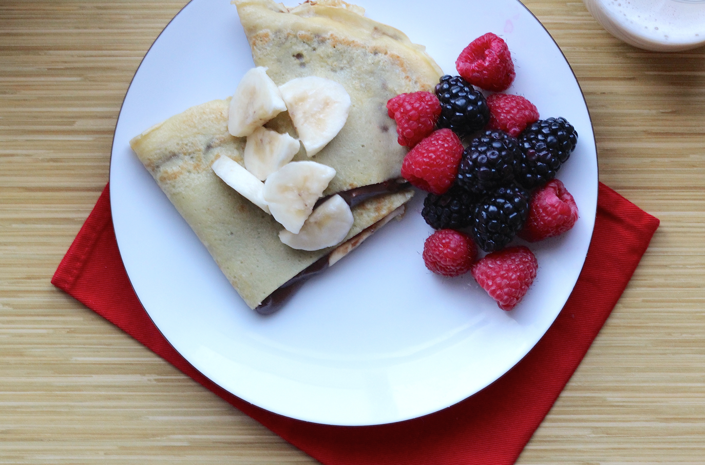 Add a Little Joy with a Nutella Banana Breakfast Crepe