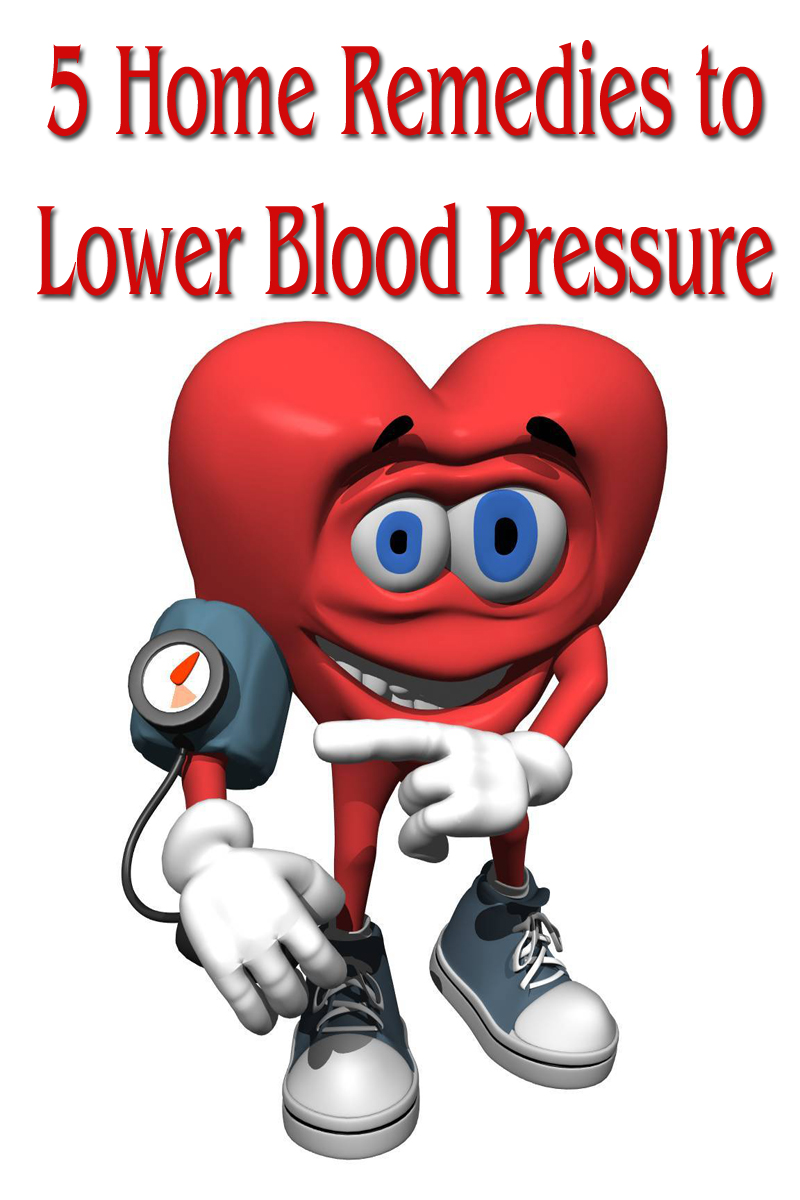 5 Home Remedies to Lower Blood Pressure
