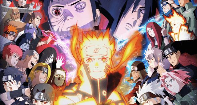 Karakter-karakter di anime Naruto