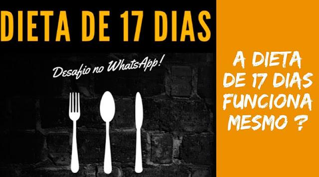 Dieta de 17 Dias É Verdade?