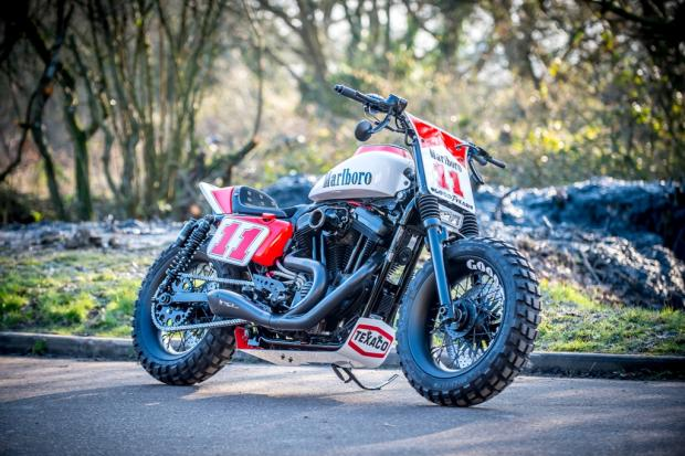 Harley Davidson Sportster By Shaw Speed And Custom Hell Kustom