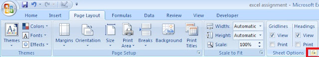 How to Print Excel Worksheet with Data and Comments in Hindi