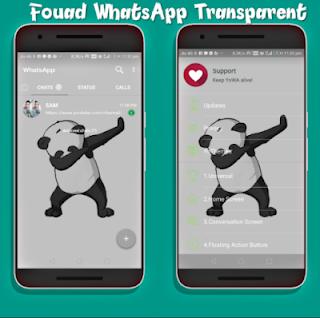 Saat ini whatsapp aneka macam peminatnya hampir di seluruh dunia dari yang muda hingga  Cara Membuat Whatsapp Transparan Dengan Aplikasi Whatsapp Mod Apk 2019