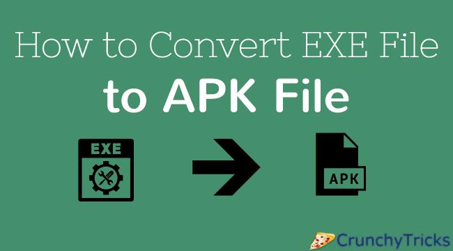 EXE to APK Converter Tool