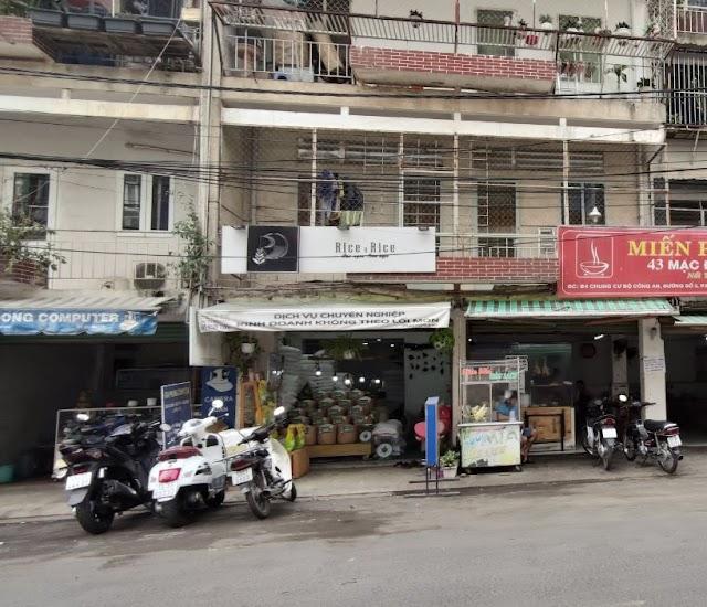 Địa chỉ cửa hàng bán gạo Rice Rice: Chung cư bộ công an, đường số 3, Bình An, Quận 2