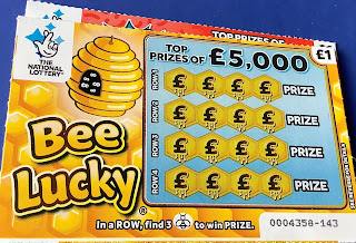 £1 Bee Lucky National Lottery Scratchcard