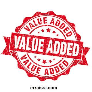 ما هي القيمة المضافة ؟