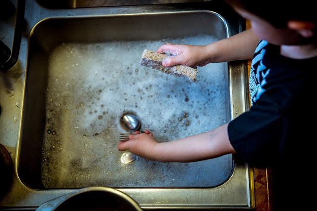 Dishwasher Detergent Self Employment Business Idea - Washing Dish Soap