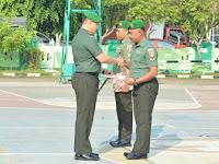 Upacara Korps Raport Dan Tradisi Pindah Satuan Kodim 1001/Amuntai Balangan
