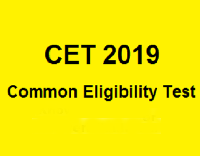 Common Eligibility Test (CET)