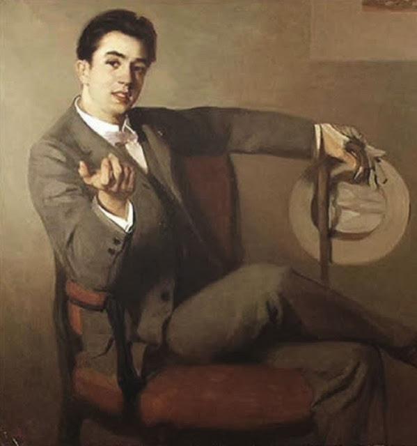 Francis Luis Mora, International Art Gallery, Portrait of men