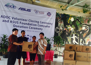 ASUS Donasikan 21 Komputer Latih Anak Jalanan