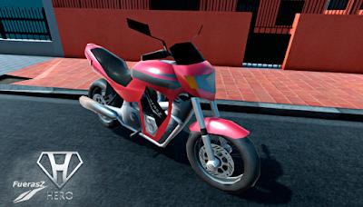 moto Hero FuerasZ do jogo brasileiro 2NTD