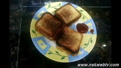 Masala Bread Sandwich