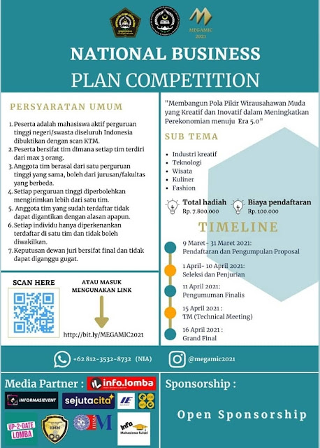 National Business Plan Competition (NBPC) 2021