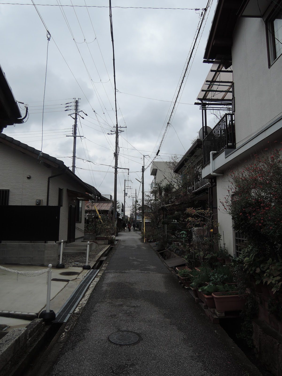 Hikone Japanese side streets