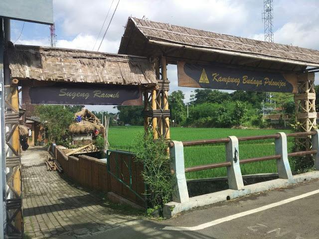 Kampung budaya polowijen 1