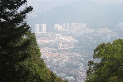 Landscape Kota Penang dari  Bukit Bendera