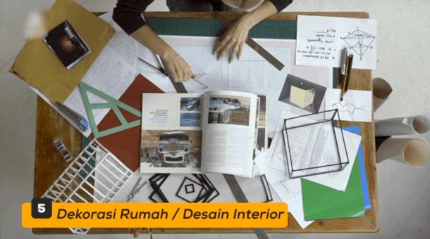 5. Desain Rumah - Desain Interior