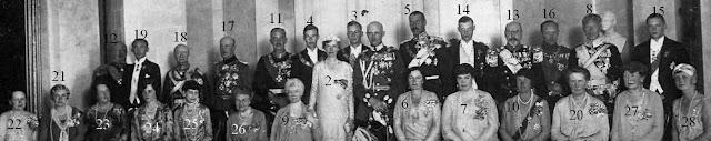 noces d'argent de Friedrich Franz IV et Alexandra de Mecklembourg