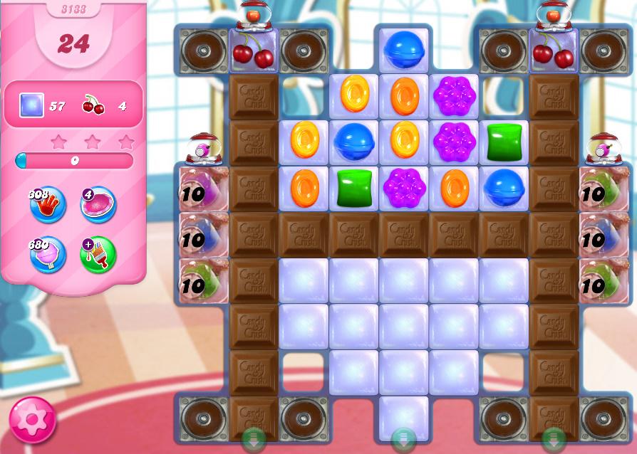 Candy Crush Saga level 3133