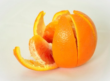 1. Orange Peel