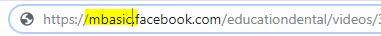 Descarga videos de Facebook a tu móvil