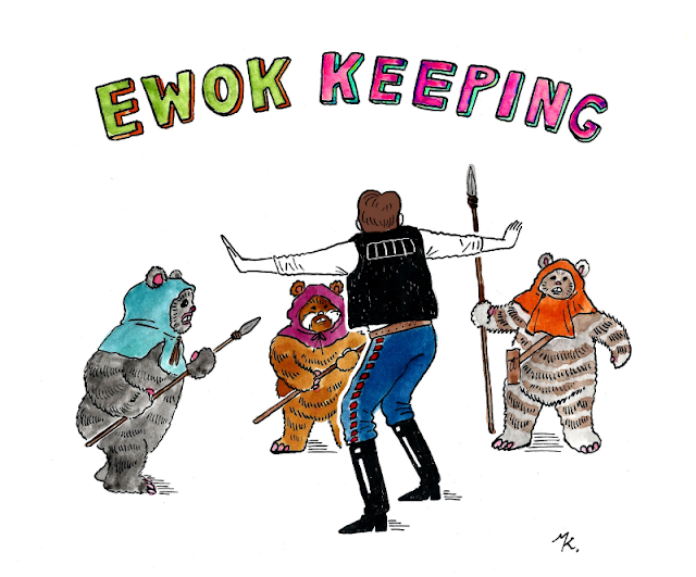 EWOK KEEPING