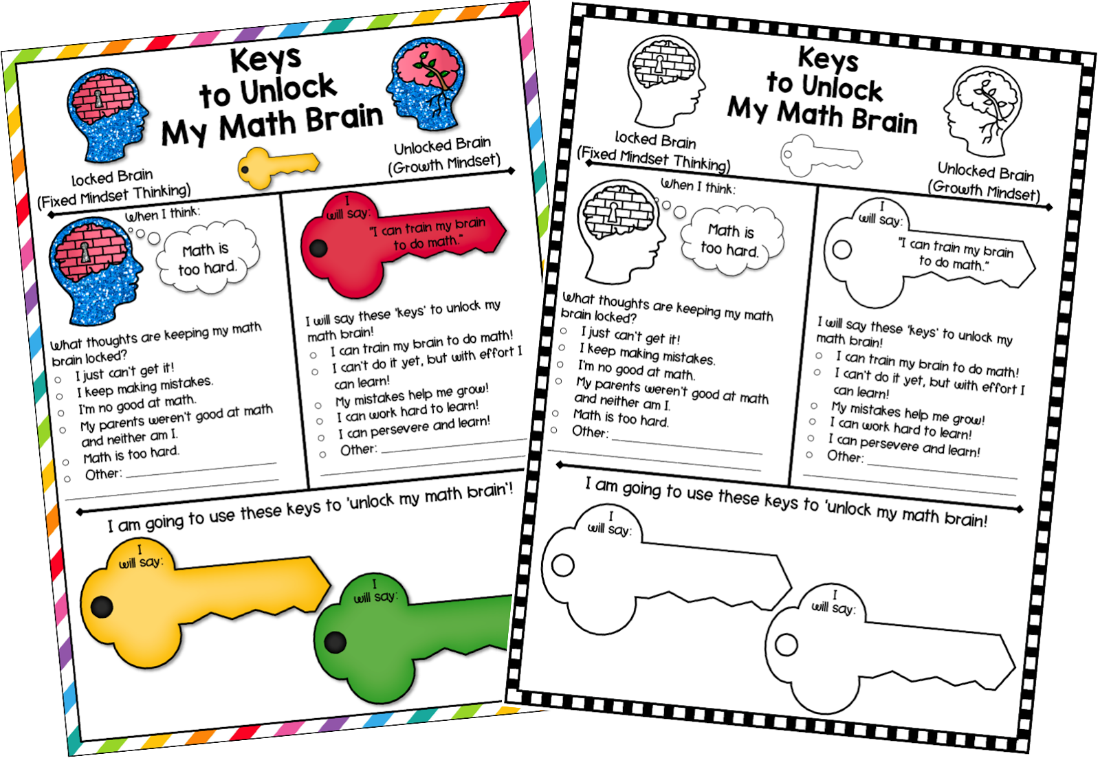 Keys To Developing A Growth Mindset In Math