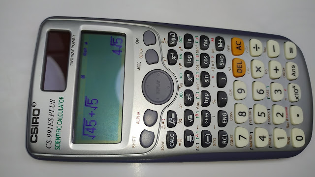 آلة حاسبة علمية بأكثر من 417 وظيفة - FX-991es Plus ...