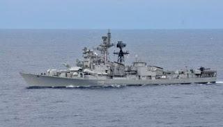 Indian Navy's Quarantine Camp at INS Vishwakarma