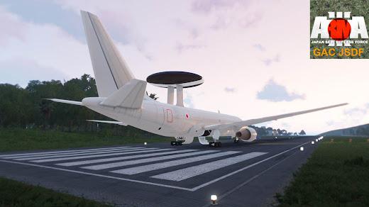 Arma3用自衛隊MODのEC-767