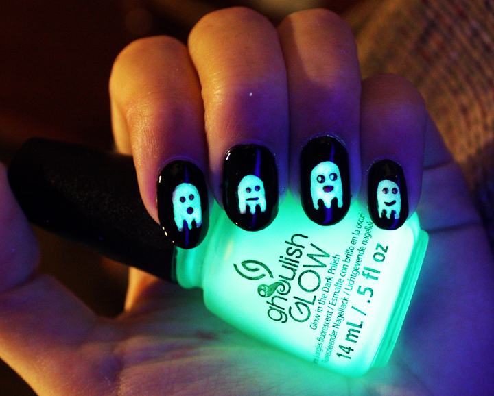 Saving the World One Nail at a Time: Glowing Ghosts