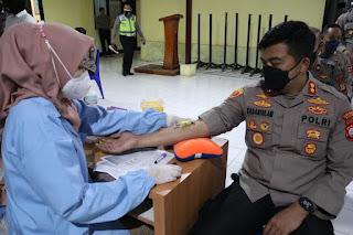 Antisipasi Sejak Dini Serangan Penyakit, Polres Pelabuhan Makassar lakukan Rikkes Berkala
