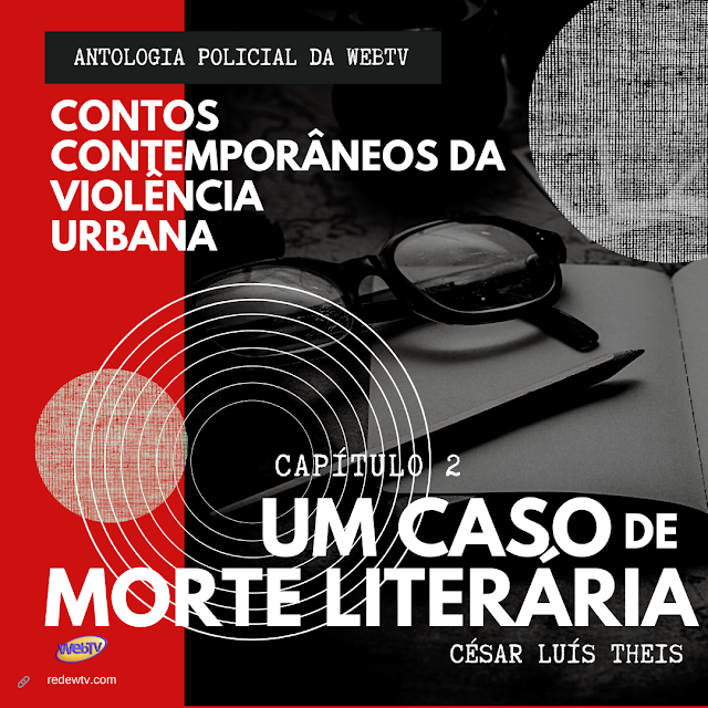 Banner da Antologia Violência Urbana - capitulo 2
