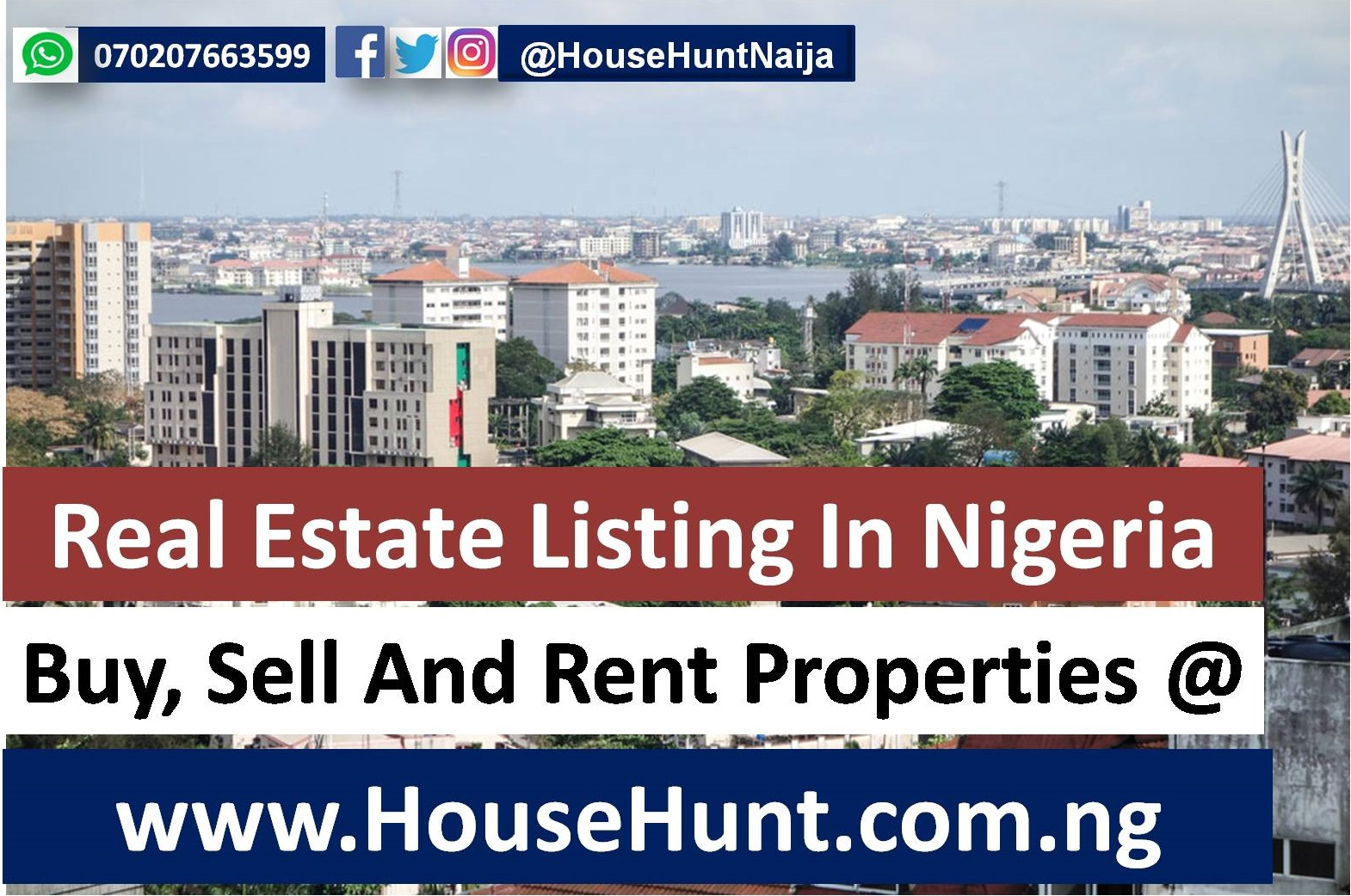 Buy, Sell And Rent Properties At HouseHunt Nigeria