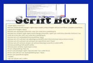 Cara Mudah Membuat Script Box