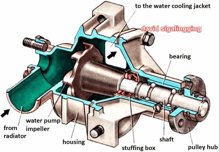 Water Pump Mobil, Komponen, Cara Kerja, dan Fungsinya Ciri dan Dampak Kerusakan