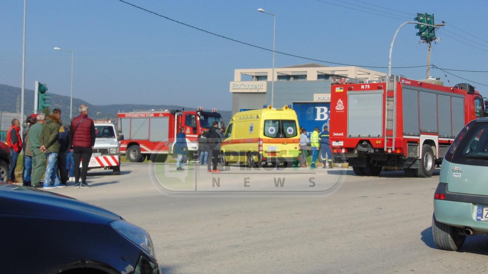 Ιωάννινα:Σφοδρή σύγκρουση 2 οχημάτων στα Καραδμίτσια Ενας νεκρός δύο τραυματίες