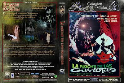 Carátula dvd: La noche de las gaviotas