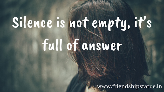 50 Best Quotes on Silence Attitude