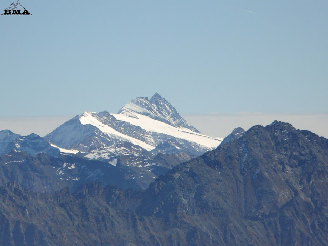 Blick zum Großglockner - wandern Kröndlhorn