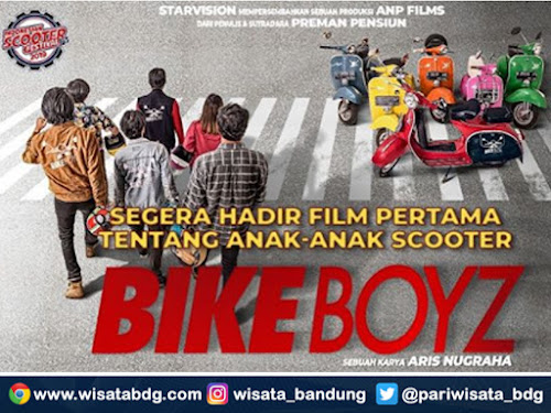 Poster film Bike Boyz karya Aris Nugraha