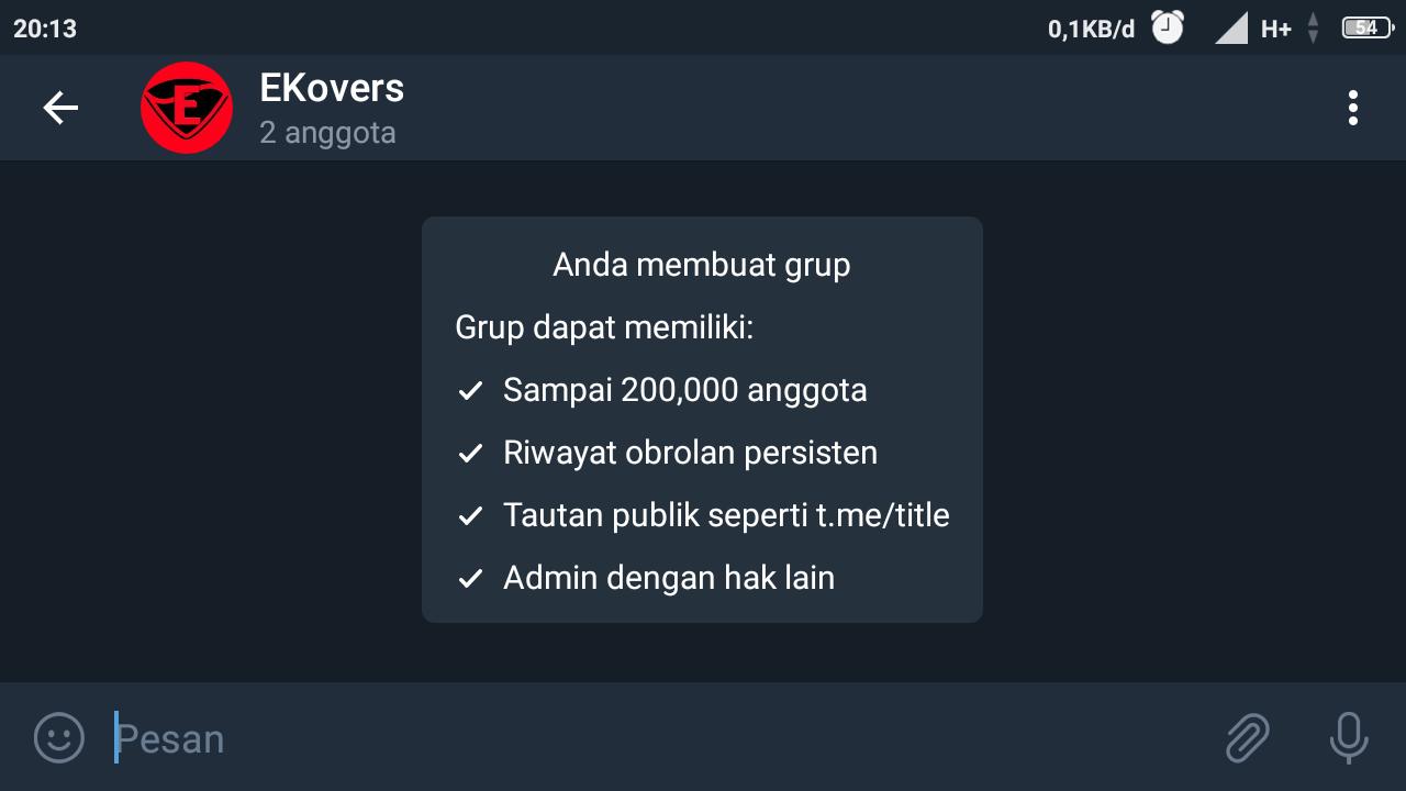 cara merubah link telegram