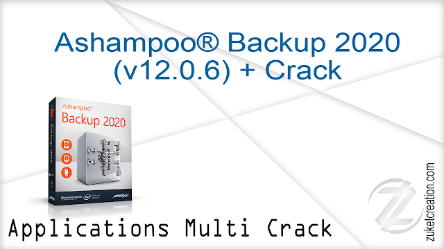 Ashampoo® Backup 2020 (v12.0.6) + Crack