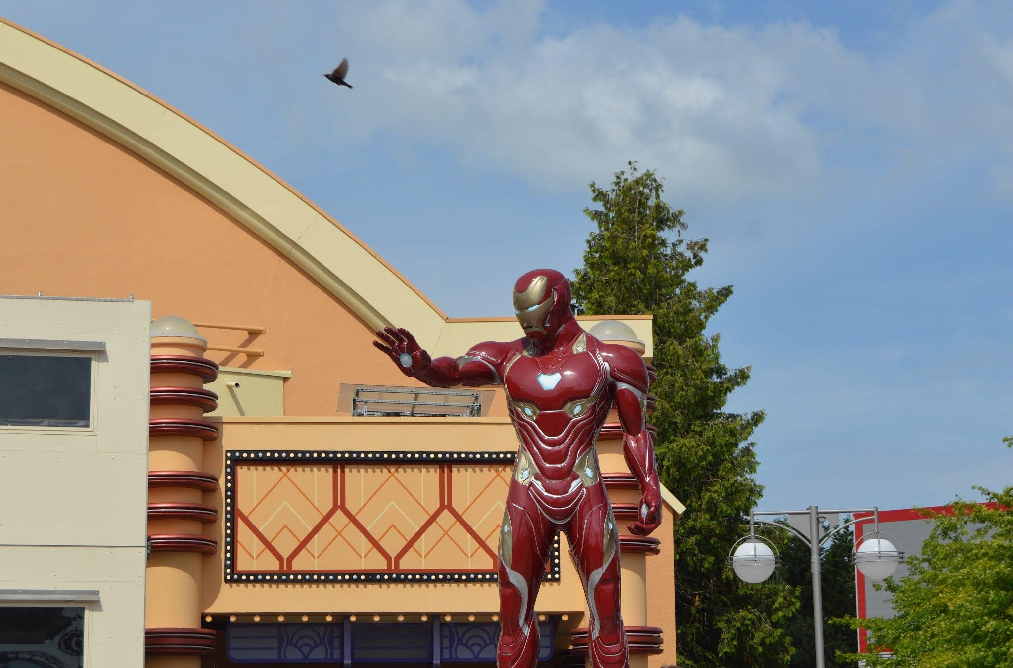 iron man in Disneyland Paris