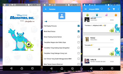 BBM Monsters,Inc Themes New V.2.13.0.26 By.Richie Evan